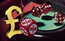 A sic bo payouts image containing a pound sign and dice.