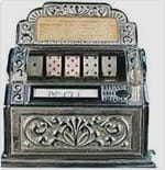 The First Slot Machine was Created by Sittman and Pitt in 1891