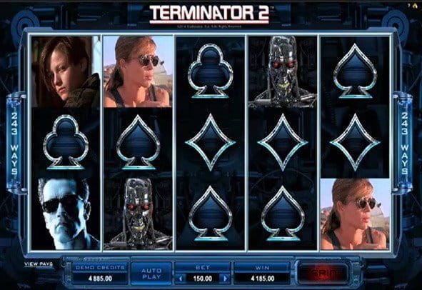 Play a demo version of Terminator 2 for free