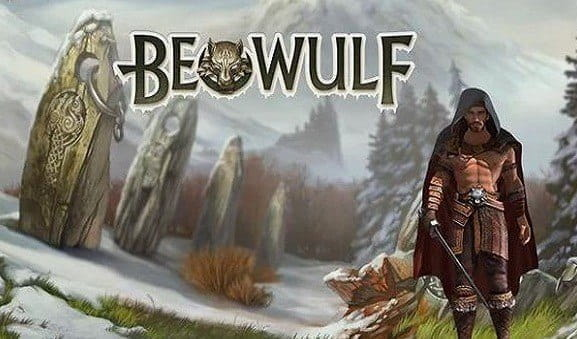 The Beowulf slot title page and logo