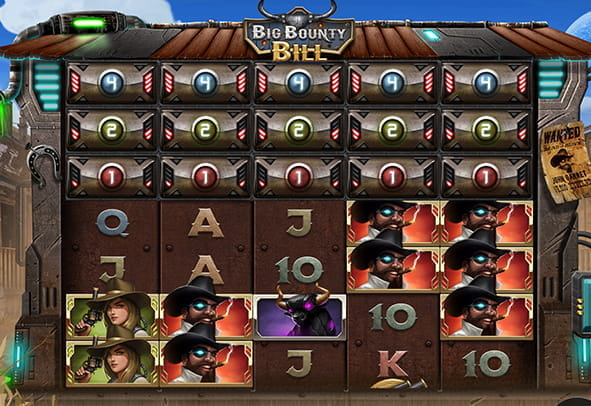 Big Bounty Bill slot during the game.