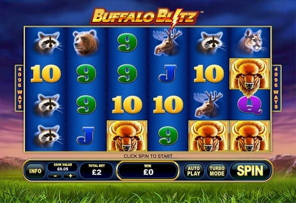 Play Buffalo Blitz  for free