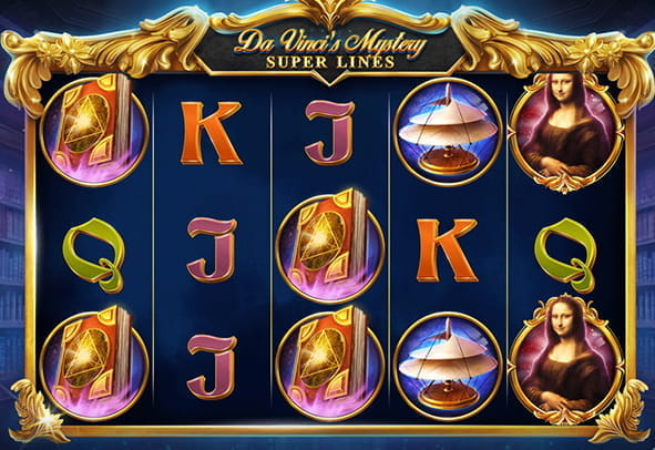 Da Vinci's Mystery slot free demo version