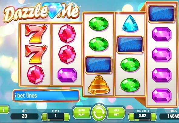 Demo version of Dazzle Me - play instantly for free money