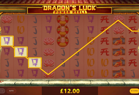 Play Dragon's Luck Power Reels for free today.