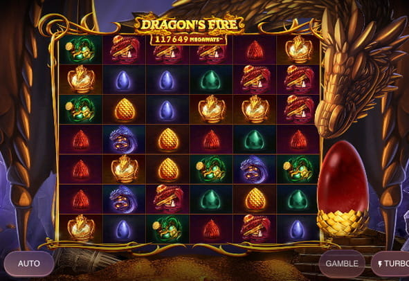 Dragon's Fire Megaways free online demo version