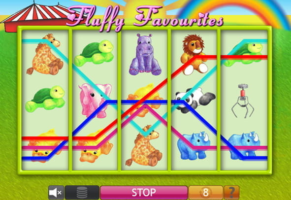 Fluffy Favourites free slot demo version