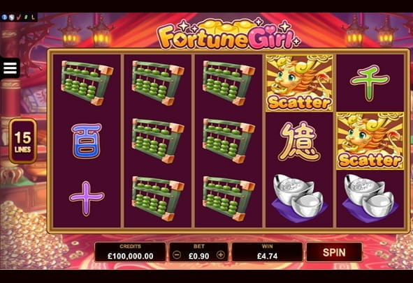 Play Fortune Girl here for free