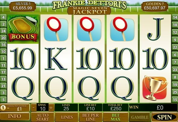 Play Frankie Dettori's Magic Seven here for free
