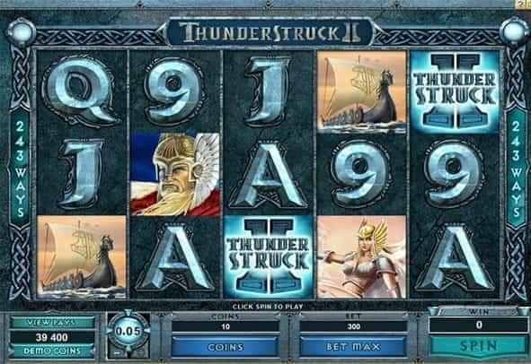 Play Thunderstruck II Online | Grosvenor Casinos