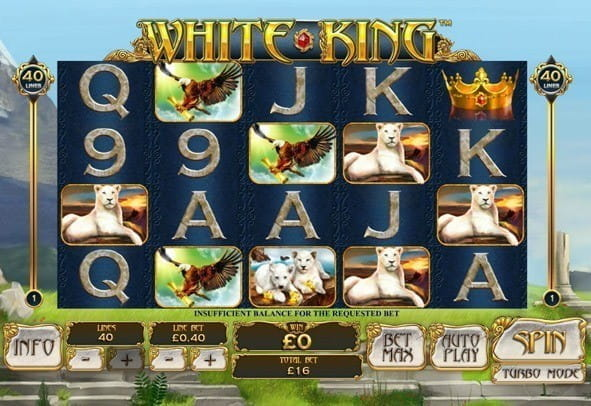 Practice mode version of White King: play for free