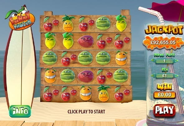 Play Funky Fruits Online Slots at Casino.com UK