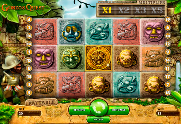 Gonzo's Quest Slot Free Play