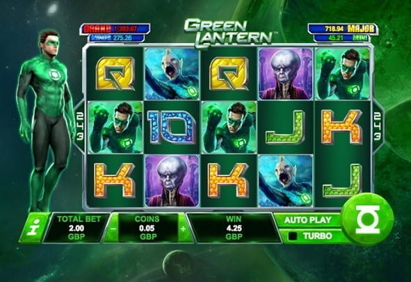 Play Green Lantern here for free