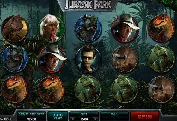 Jurassic Park 243 ways Microgaming Slot Free Play