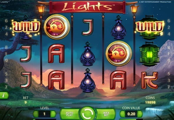 Practice version of Lights - play for free money and top up anytime!