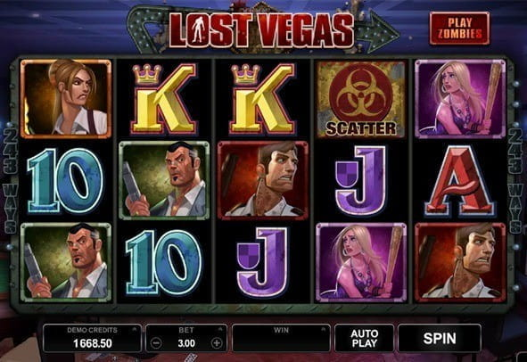 Play Lost Vegas here for free