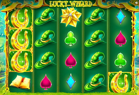 The Lucky Wizard demo game.