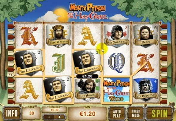 Play Monty Python and the Holy Grail Online Slots at Casino.com ZA