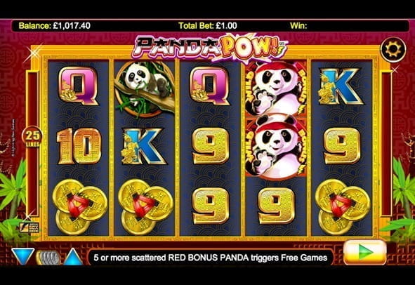 Play Panda Pow here for free