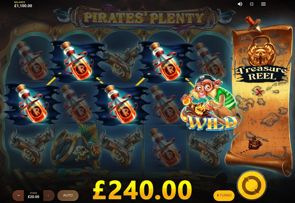 Play Pirates' Plenty online for free.