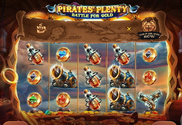 Pirates' Plenty Battle for Gold free demo version.