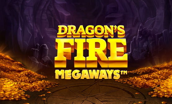 Game logo of Dragon's Fire Megaways from Red Tiger Gaming.
