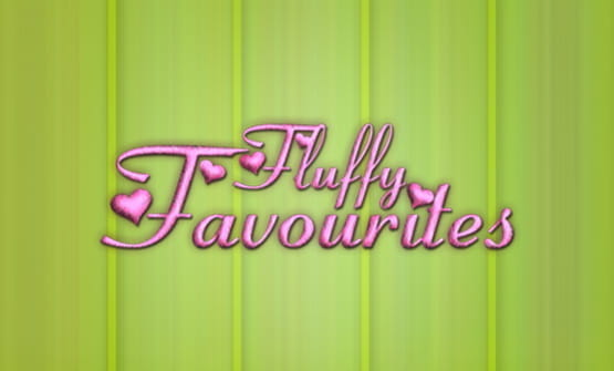 The Fluffy Favourites online slot logo.