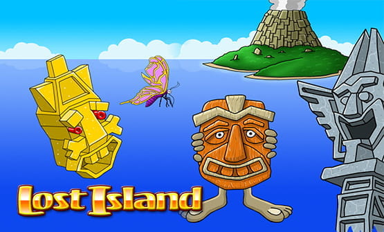 The Lost Island logo.