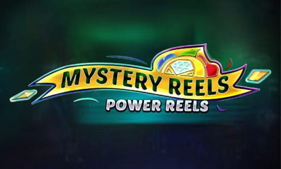 Logo of Mystery Reels Power Reels by Red Tiger Gaming.