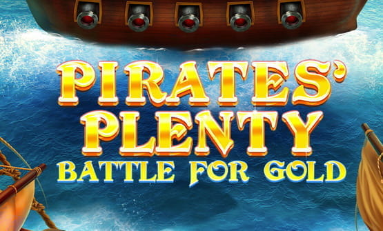 Logo of Pirates Plenty Battle for Gold by Red Tiger Gaming.
