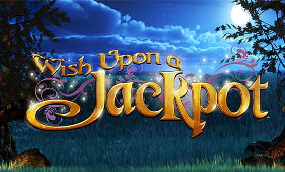 The Wish Upon a Jackpot online slot logo.