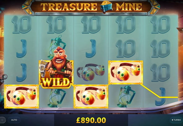 Play Treasure Mine for free right now.