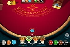 A bet is placed for Blackjack at Wixstars