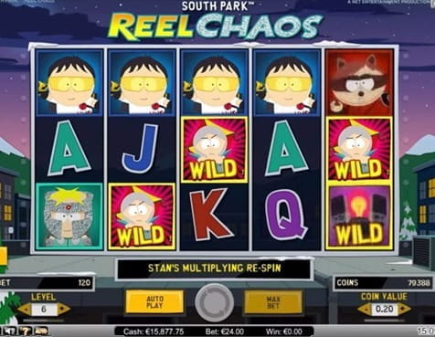 South Park Reel Chaos Includes Numerous Mini Features and a Unique Bonus Round