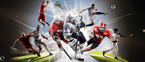 Various sports imagery