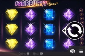 Image of Starburst Touch on a mobile device.