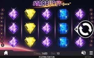 Starburst Touch – the slot at LeoVegas mobile casino.