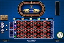 1000 Diamond Bet Roulette Table at SuperCasino