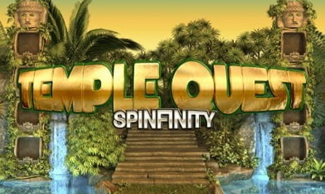 Image of the Temple Quest: Spinfinity logo
