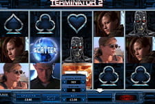 Play Terminator 2 slot at Luxury Casino