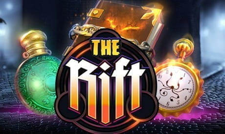 Image showing The Rift slot game logo