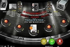 Play The Terminator I'll Be Back Blackjack at PartyCasino