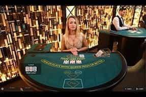 Live Three Card Poker at ComeOn!