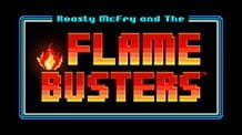 Promotional image of Flame Busters slot from Thunderkick