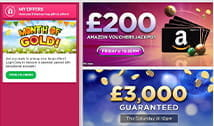 A selection of promotions at Tip Top Bingo.
