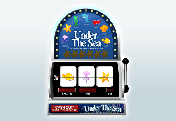 Demo Game of Under the Sea Slot.