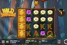 Play Wild Swarm slot at Guts Casino