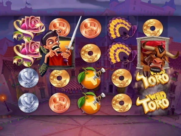 Promotional image for Wild Toro slot Demo.