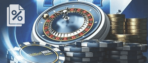 A William Hill roulette wheel